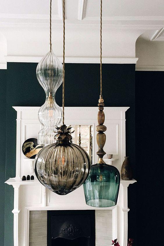 chandelier verre