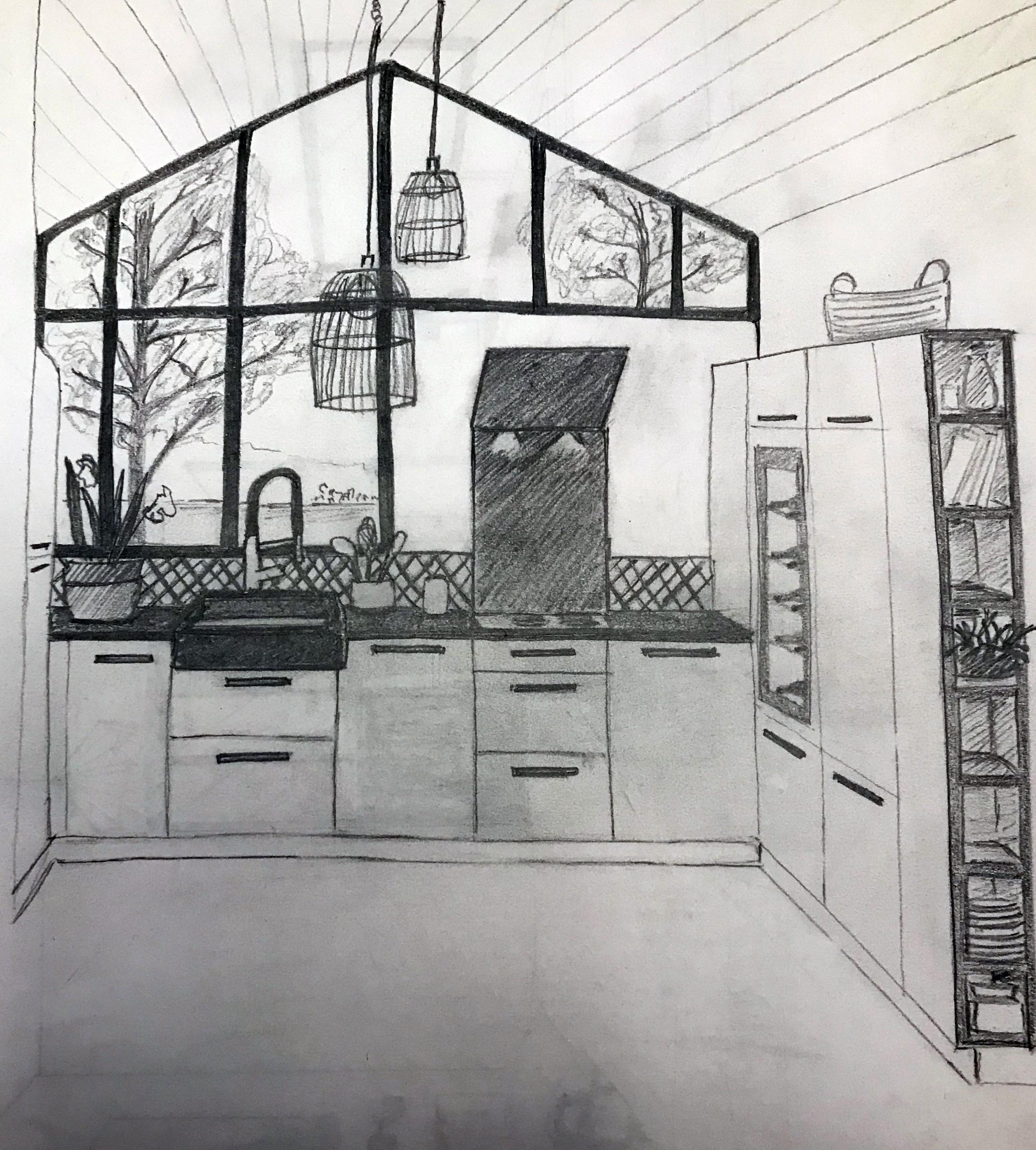 dessin-cuisine-verriere