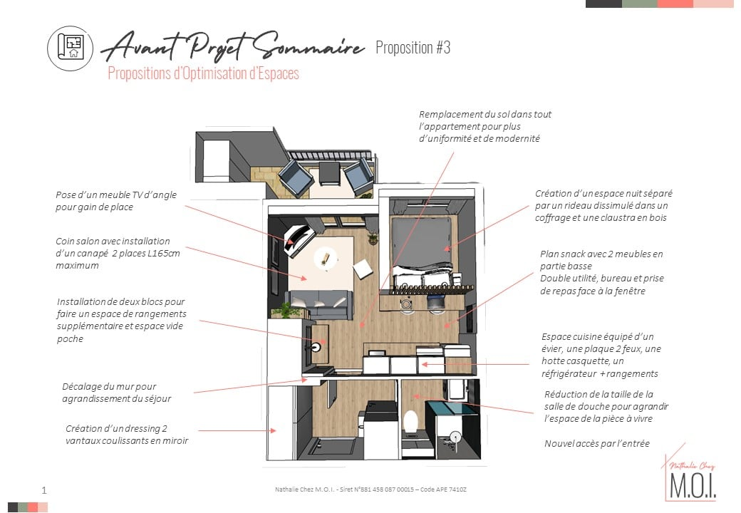Dossier APS rénovation studio