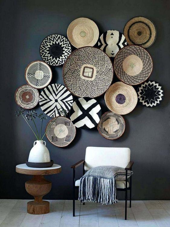 objet décoration noir et blanc  frenchy Fancy