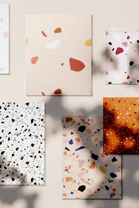 terrazzo échantillons creative market