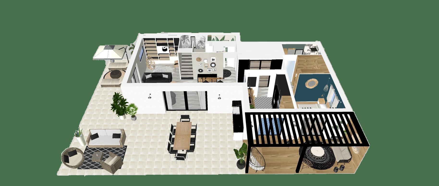 Etude Décoration Maison 5P