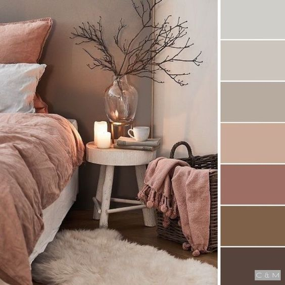 planche ambiance rose