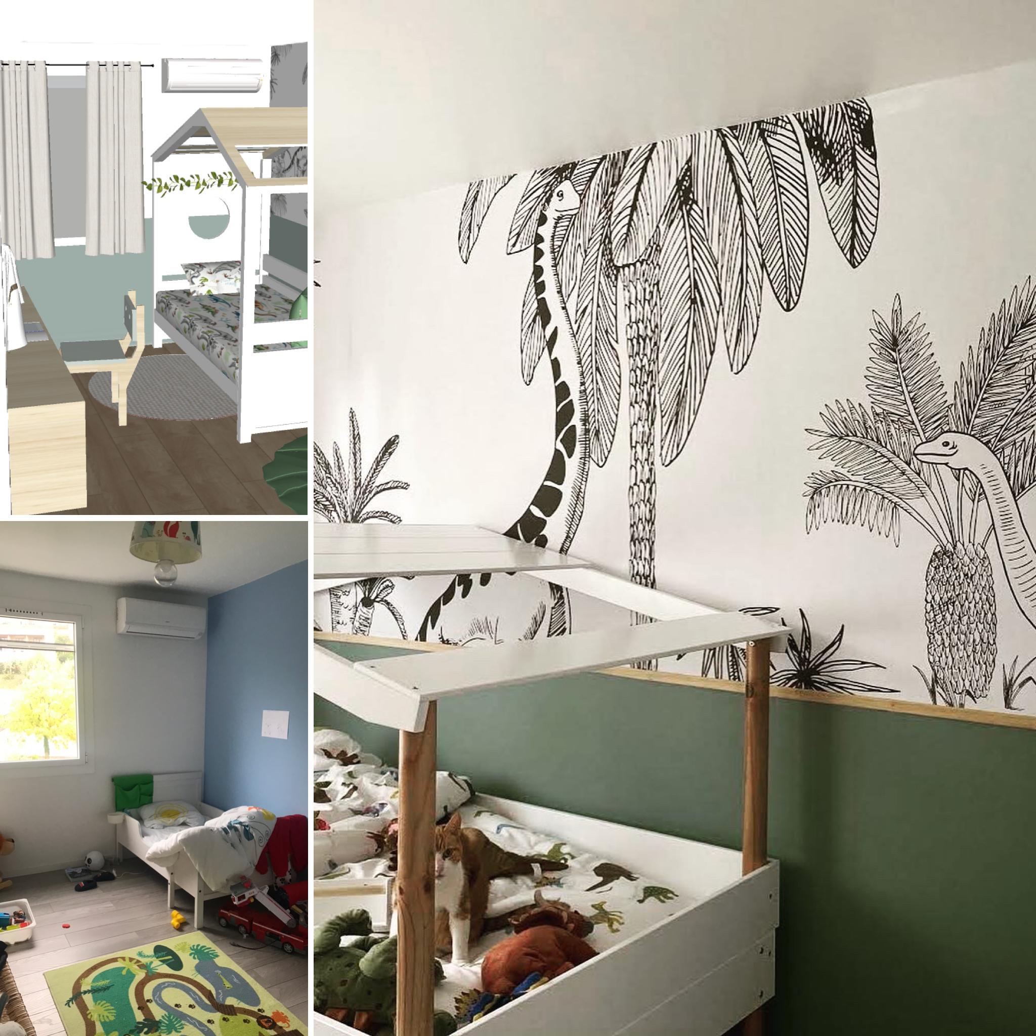 rénovation chambre enfant