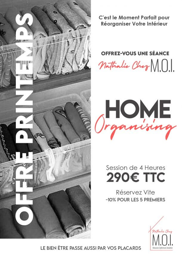 Flyer Promo Printemps Home Organising